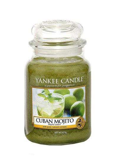 Lumanare parfumata mare in borcan Cuban Mojito