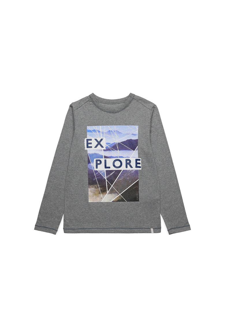 Bluza sport cu imprimeu grafic de la Esprit