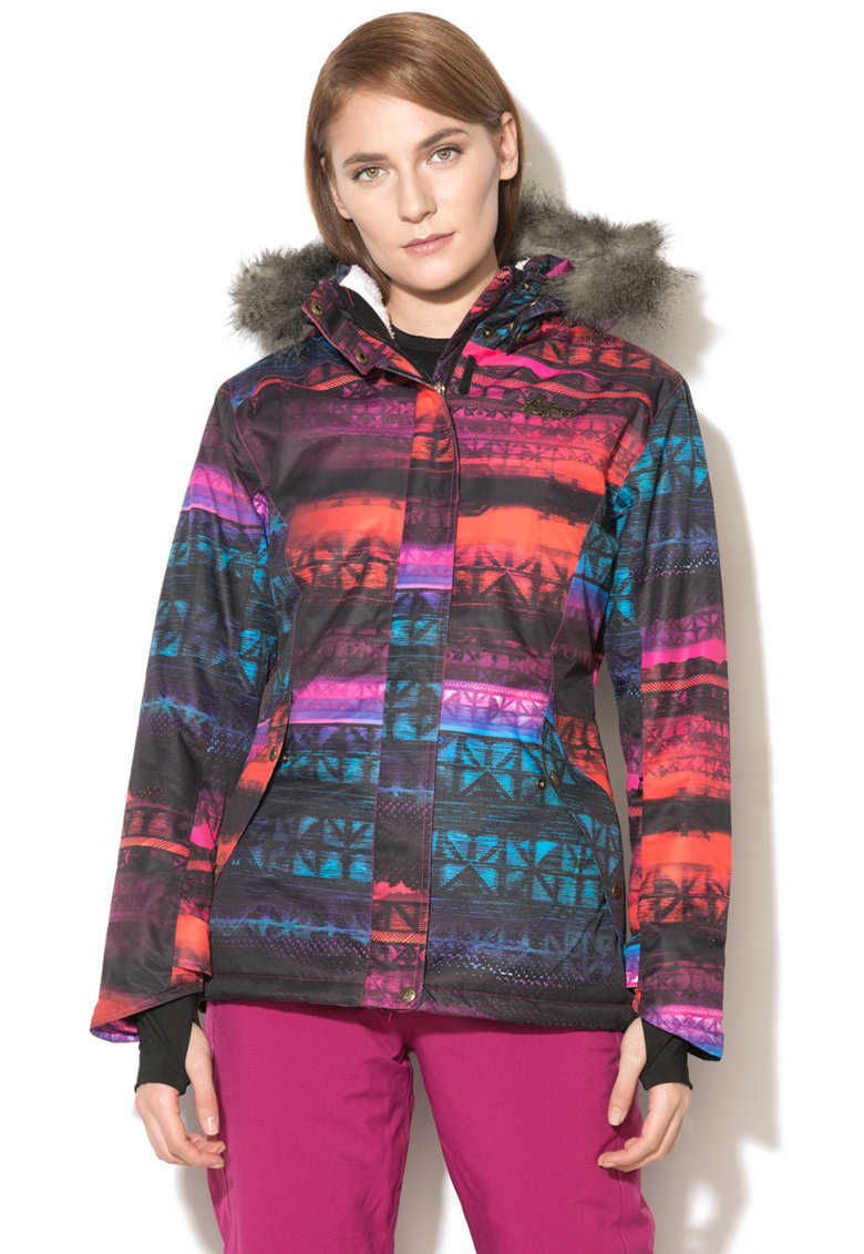 Jacheta impermeabila si rezistenta la vant pentru sporturi de iarna Mistral de la Fundango