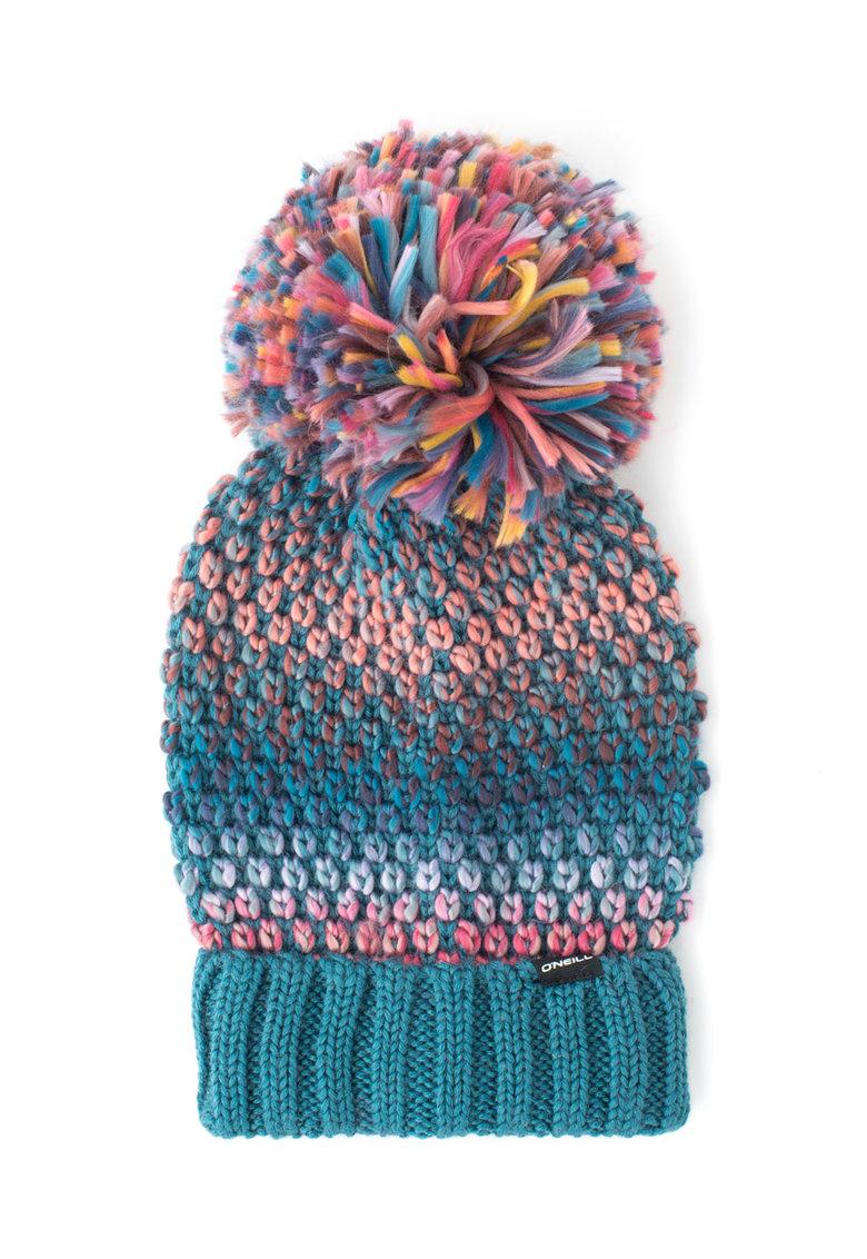 O'Neill – Caciula elastica tricotata din amestec de lana cu ciucure de la ONeill