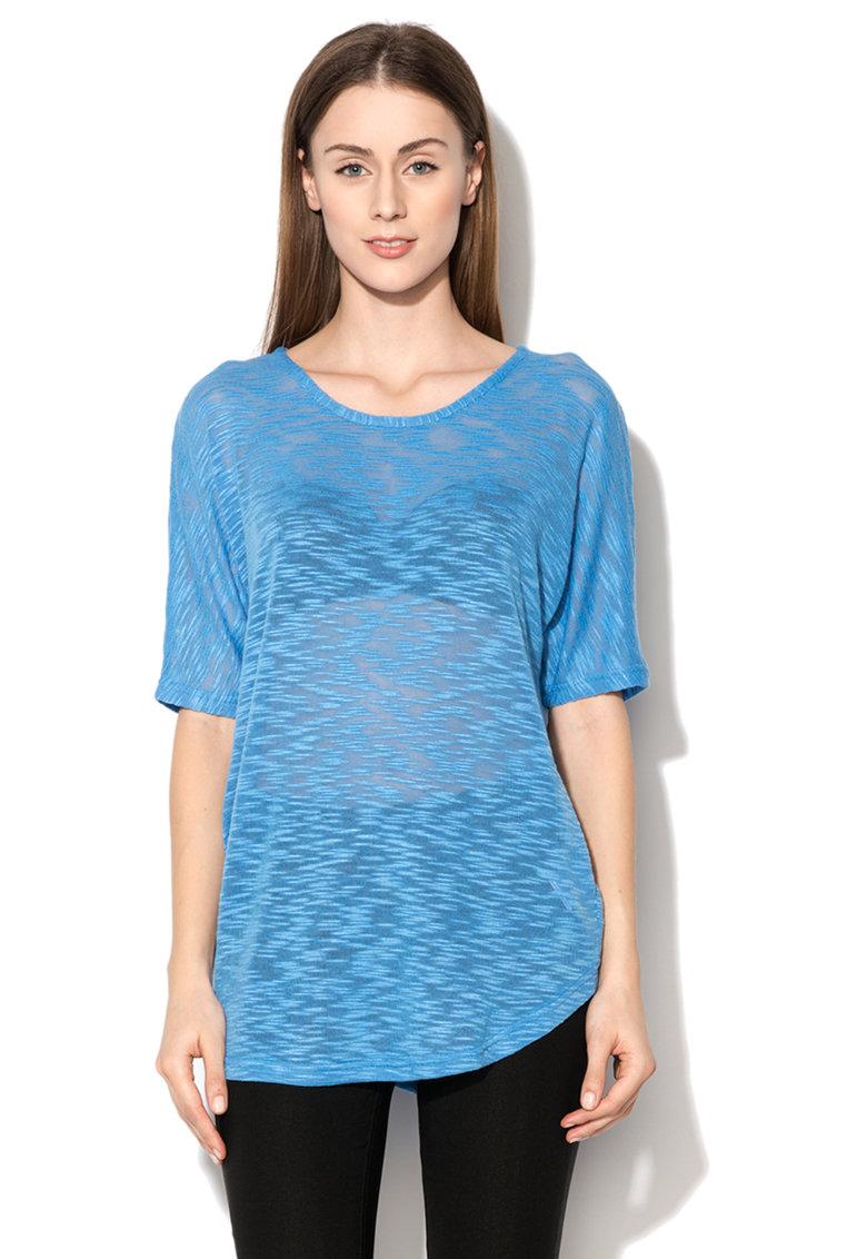 byoung Bluza albastru pastel din jerseu tricotat Laki