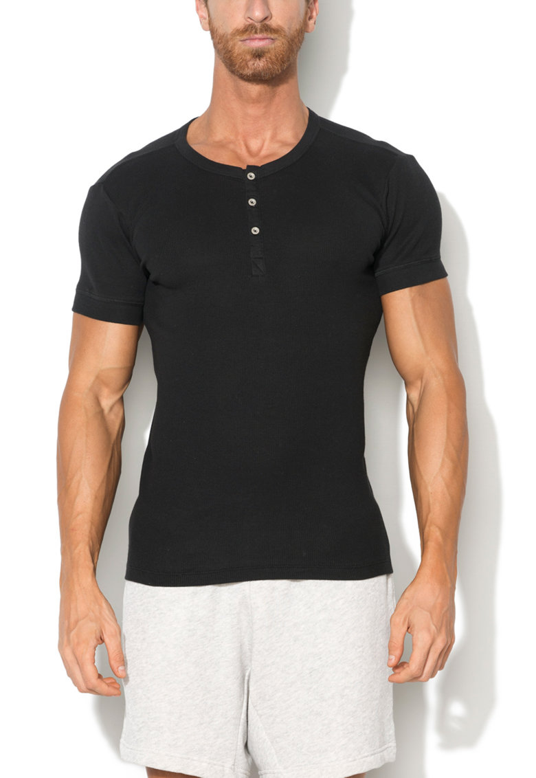 Tricou de casa negru din bumbac 300LS de la Levis