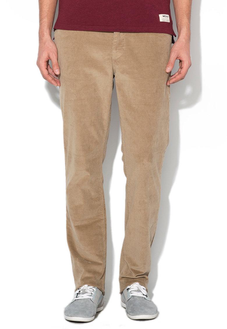 Mexx Pantaloni regular fit maro deschis din reiat
