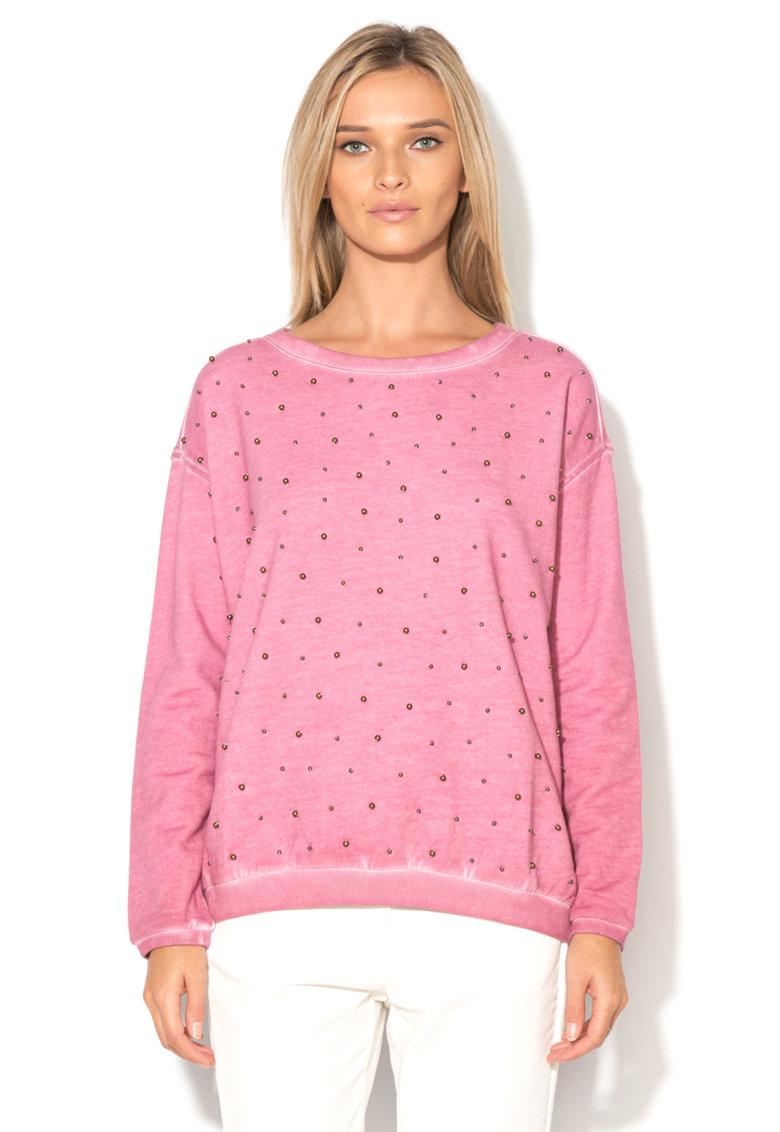Napapijri Bluza sport roz cu margele Biot