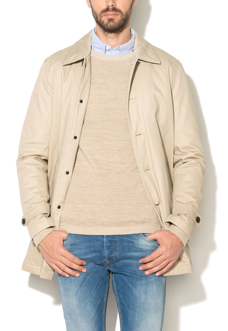 Selected Homme Haina scurta bej din bumbac Tribeca