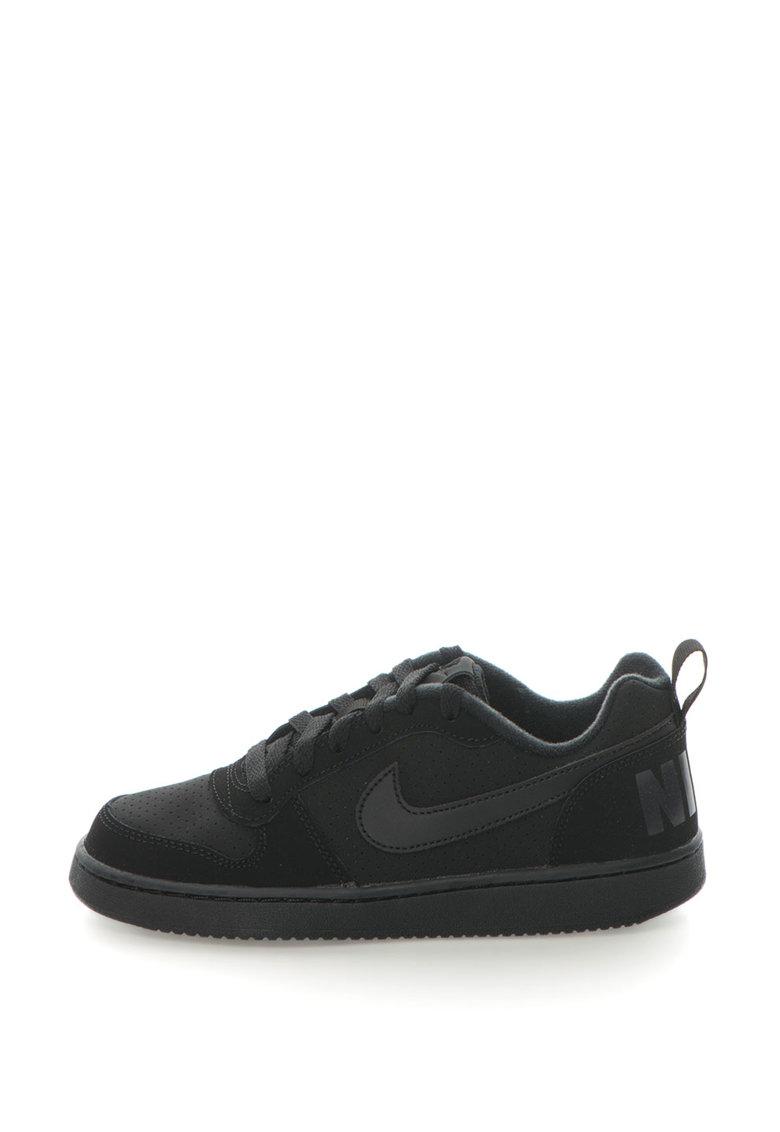 Nike Pantofi sport cu insertii de piele Court Borough
