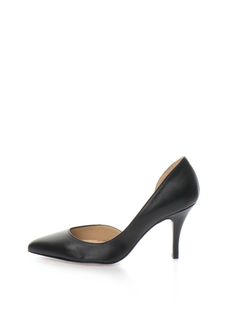 Zee Lane Pantofi negri de piele