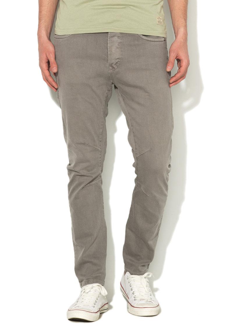 JackJones Pantaloni conici gri Luke