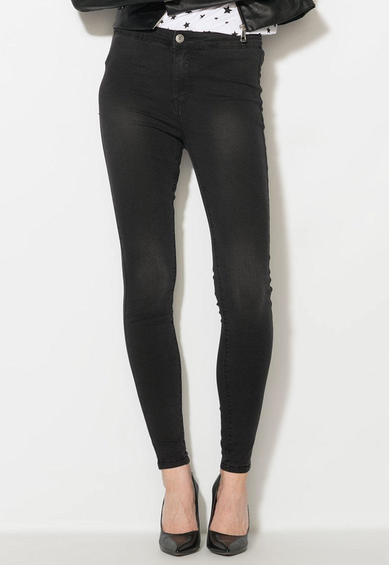 Zee Lane Denim Jeansi skinny elastici negri