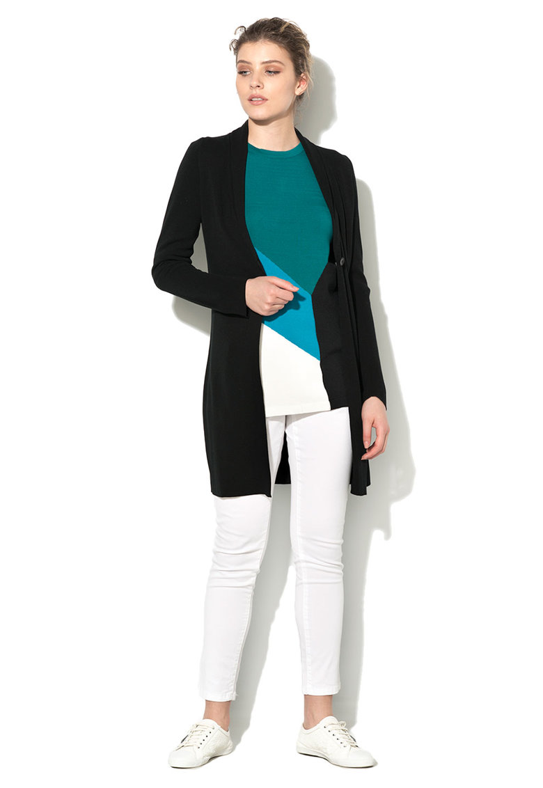 United Colors Of Benetton Cardigan negru de jerseu