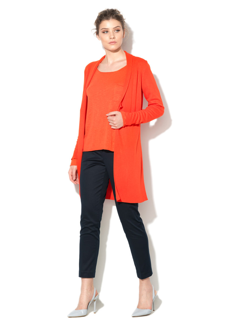 United Colors of Benetton Cardigan oranj de jerseu