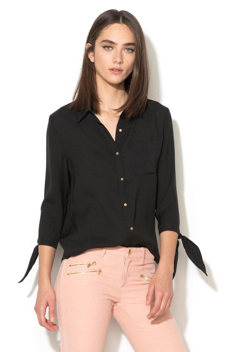 Juicy Couture Camasa neagra Ellie