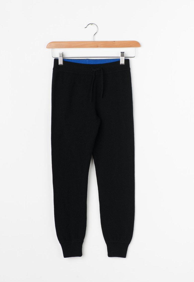 Juicy Couture Pantaloni jogger negri din casmir
