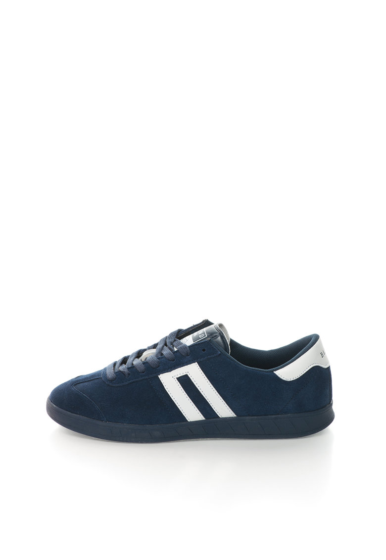 BLEND Pantofi sport bleumarin cu alb