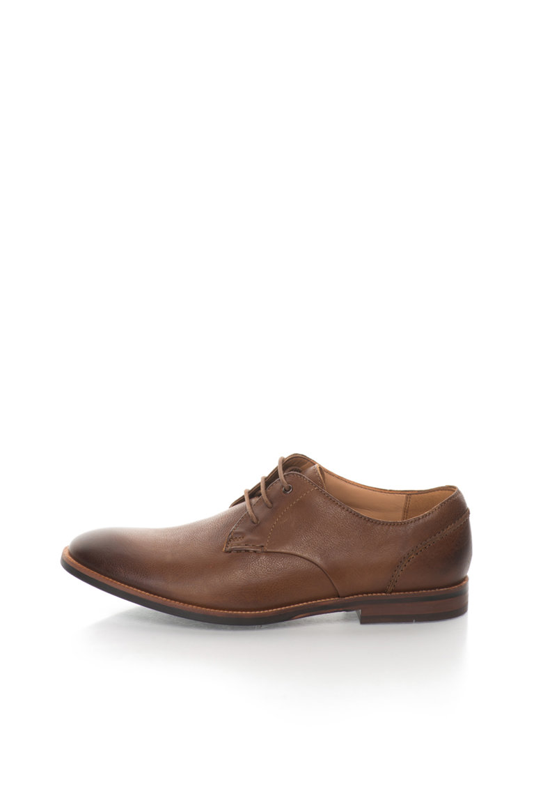 Clarks Pantofi maro in degrade de piele Broyd Walk