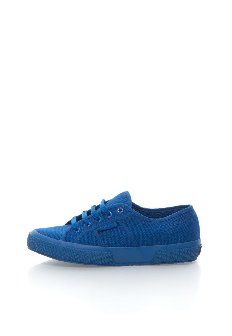 Superga Pantofi sport albastru persan cu sireturi Cotu Classic