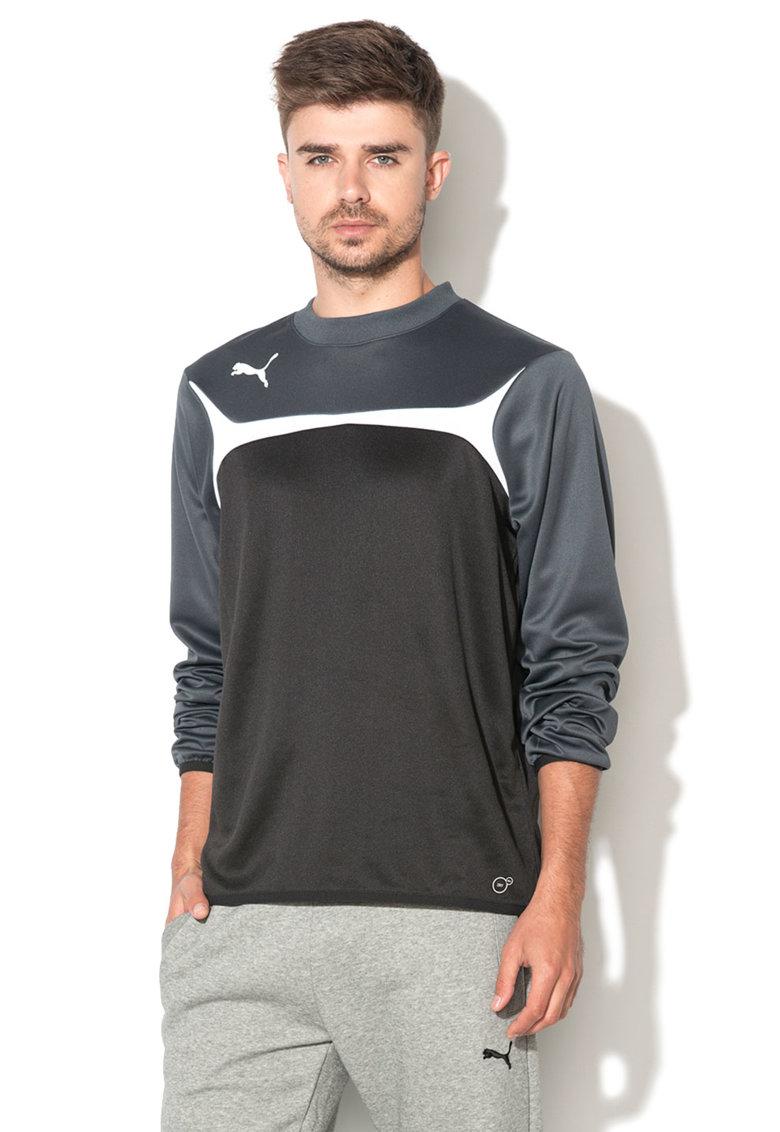 Puma Bluza sport negru cu gri pentru antrenament