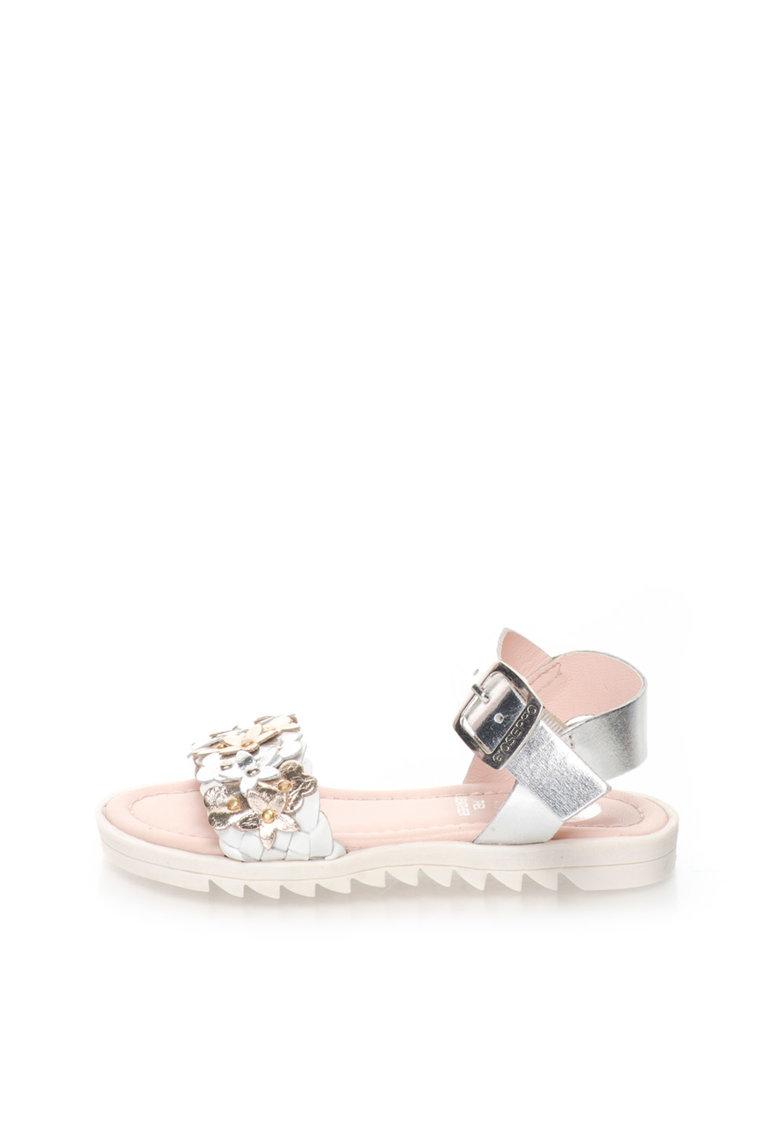 Sandale multicolore de piele Besita