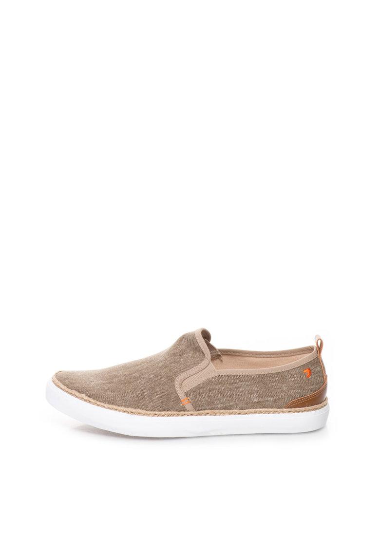 Gioseppo Pantofi slip on maro nisip de panza Darrell