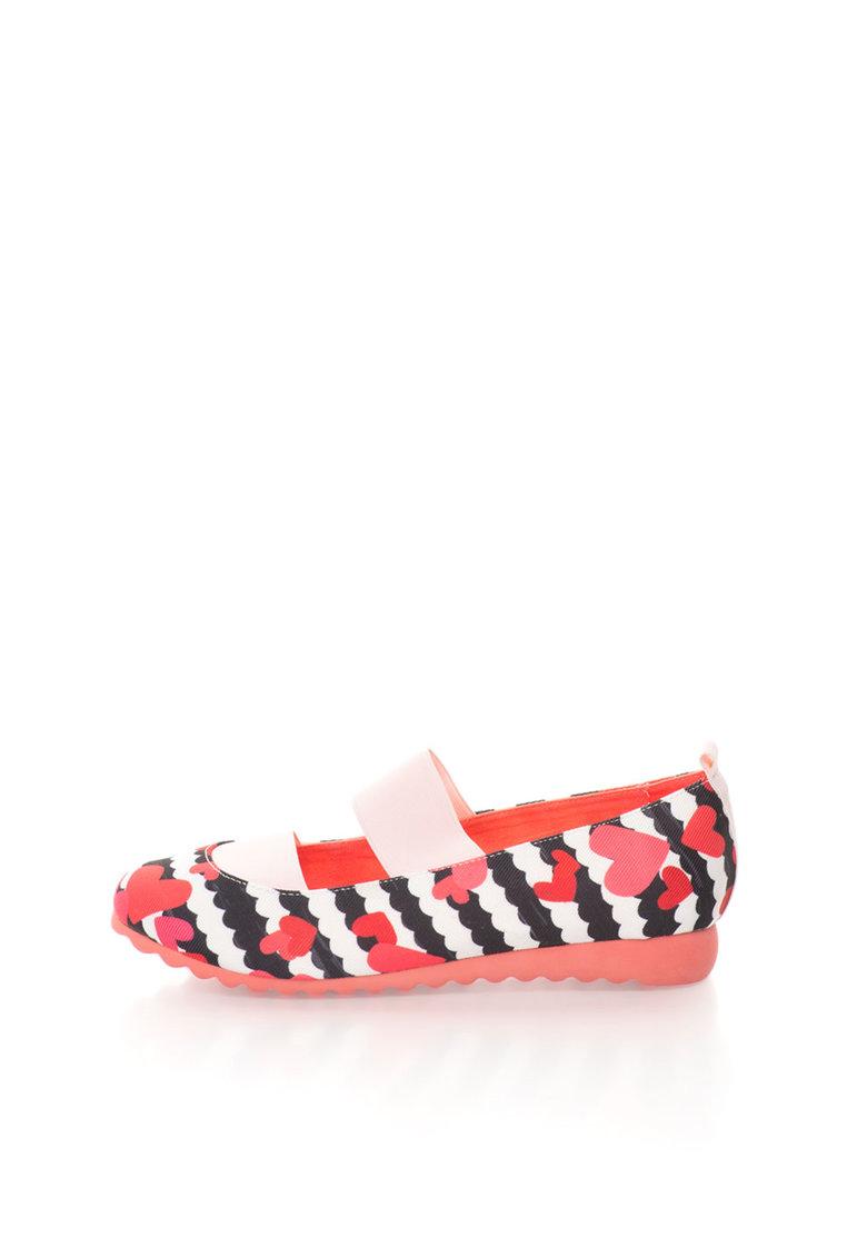 Pantofi Multicolori Cu Benzi Elastice
