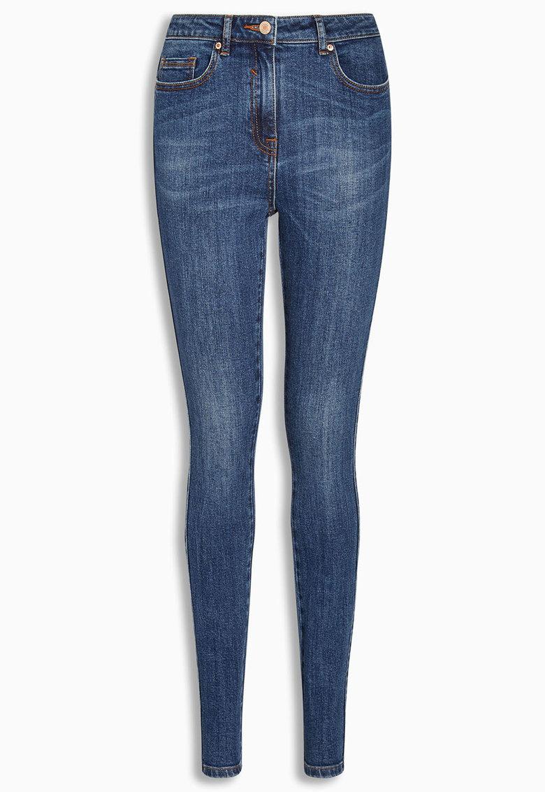 NEXT Jeansi skinny albastri