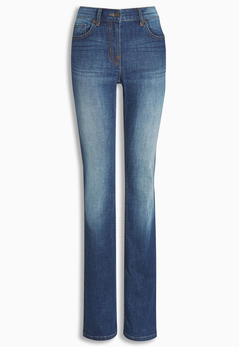 NEXT Jeansi bootcut albastri
