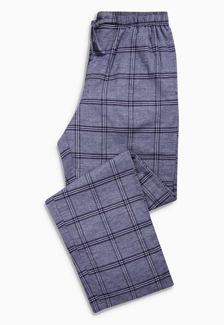 NEXT Pantaloni de pijama bleumarin in carouri
