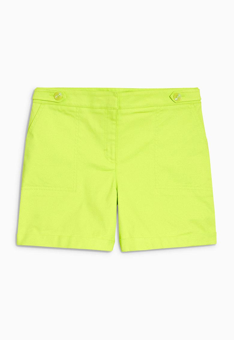 NEXT Pantaloni scurti galben chartreuse