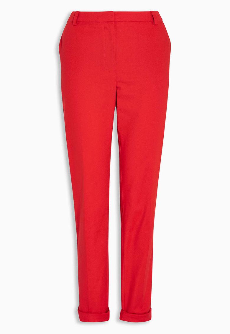 NEXT Pantaloni rosii conici