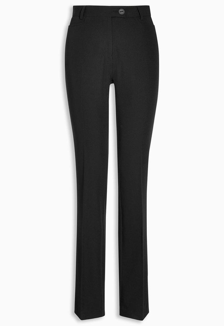 NEXT Pantaloni negri cu croiala bootcut
