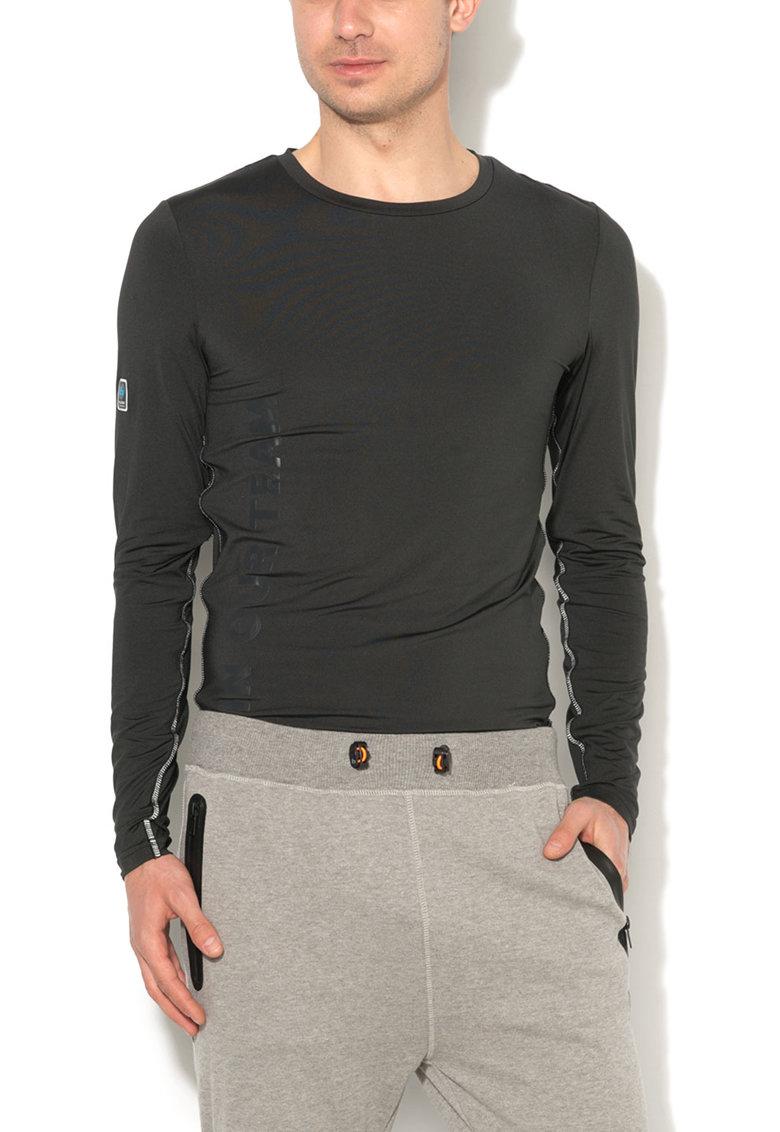 BLEND Bluza sport neagra