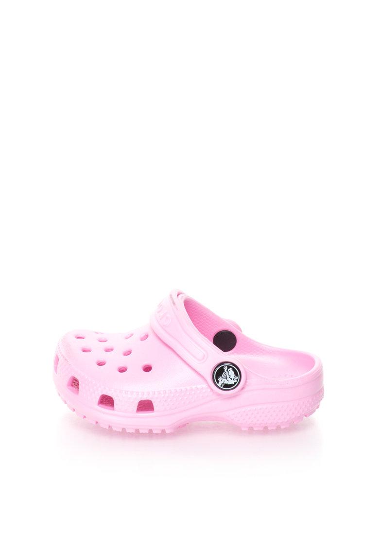 Crocs Sandale slingback roz deschis Classic