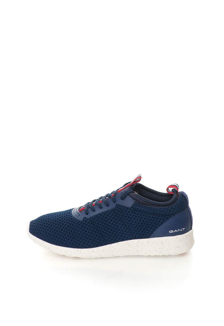 Gant Pantofi sport slip-on bleumarin texturati Capo