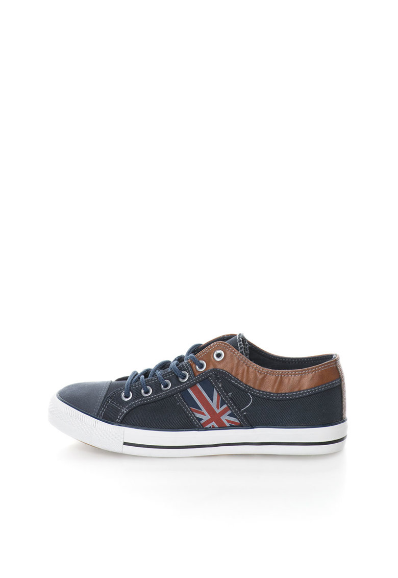 Zee Lane Pantofi sport bleumarin de panza