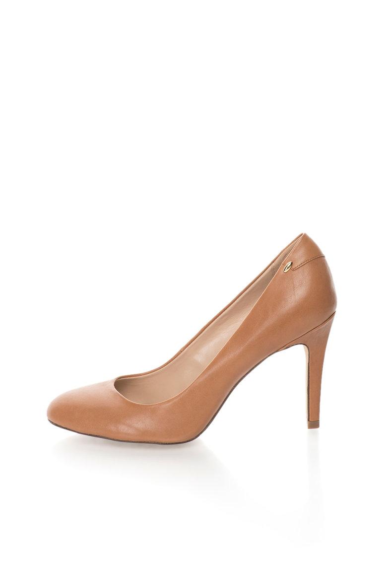 Aldo Pantofi stiletto maro camel de piele Lahren