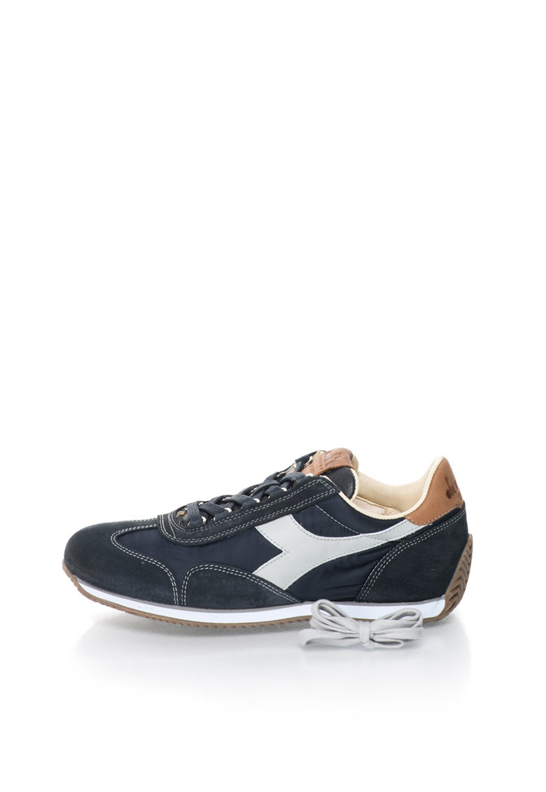Diadora Heritage Pantofi sport bleumarin inchis cu garnituri de piele Equipe