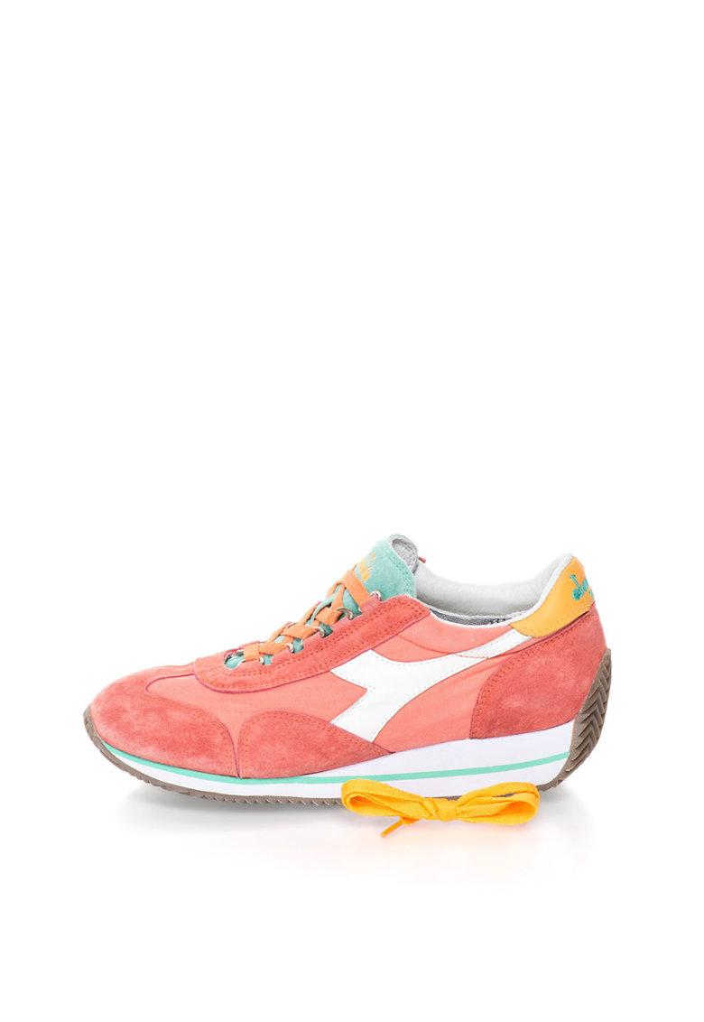 Diadora Heritage Pantofi sport rosu capsuna Equipe