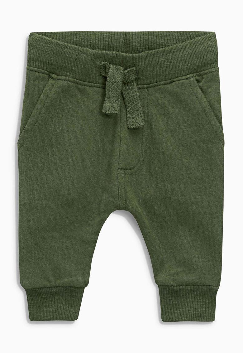 Pantaloni jogger verde oliv