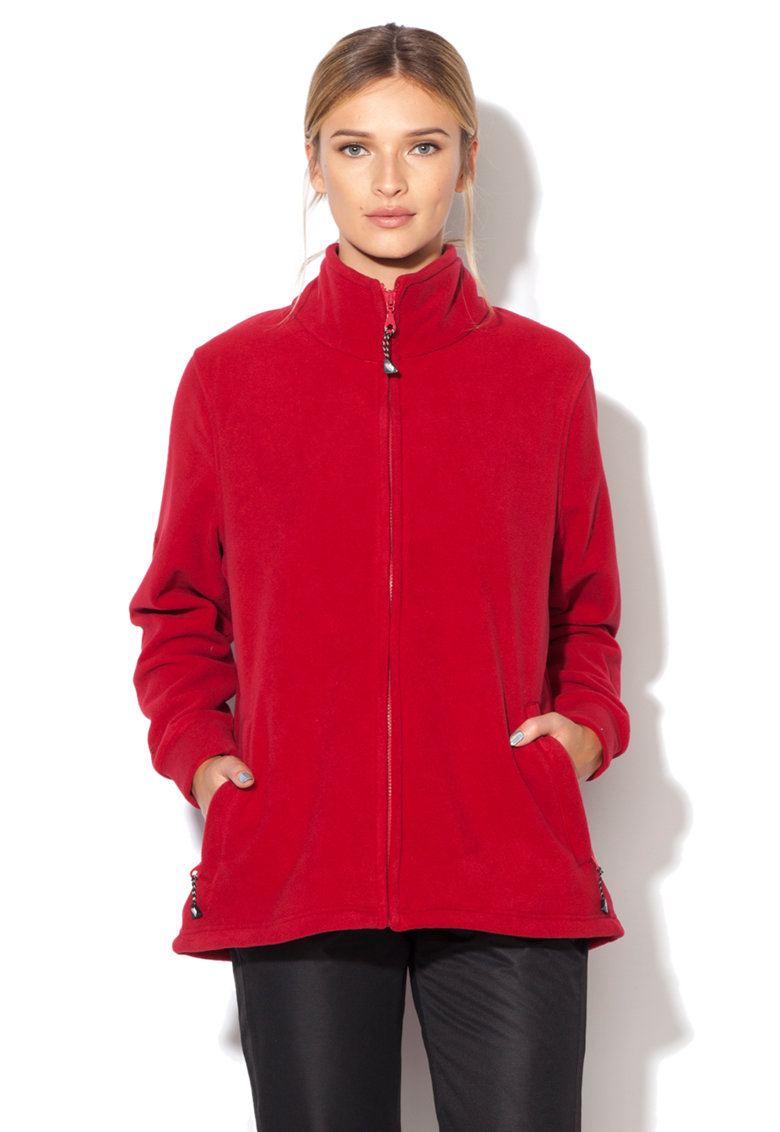 Trespass Bluza sport din fleece cu fermoar Strength