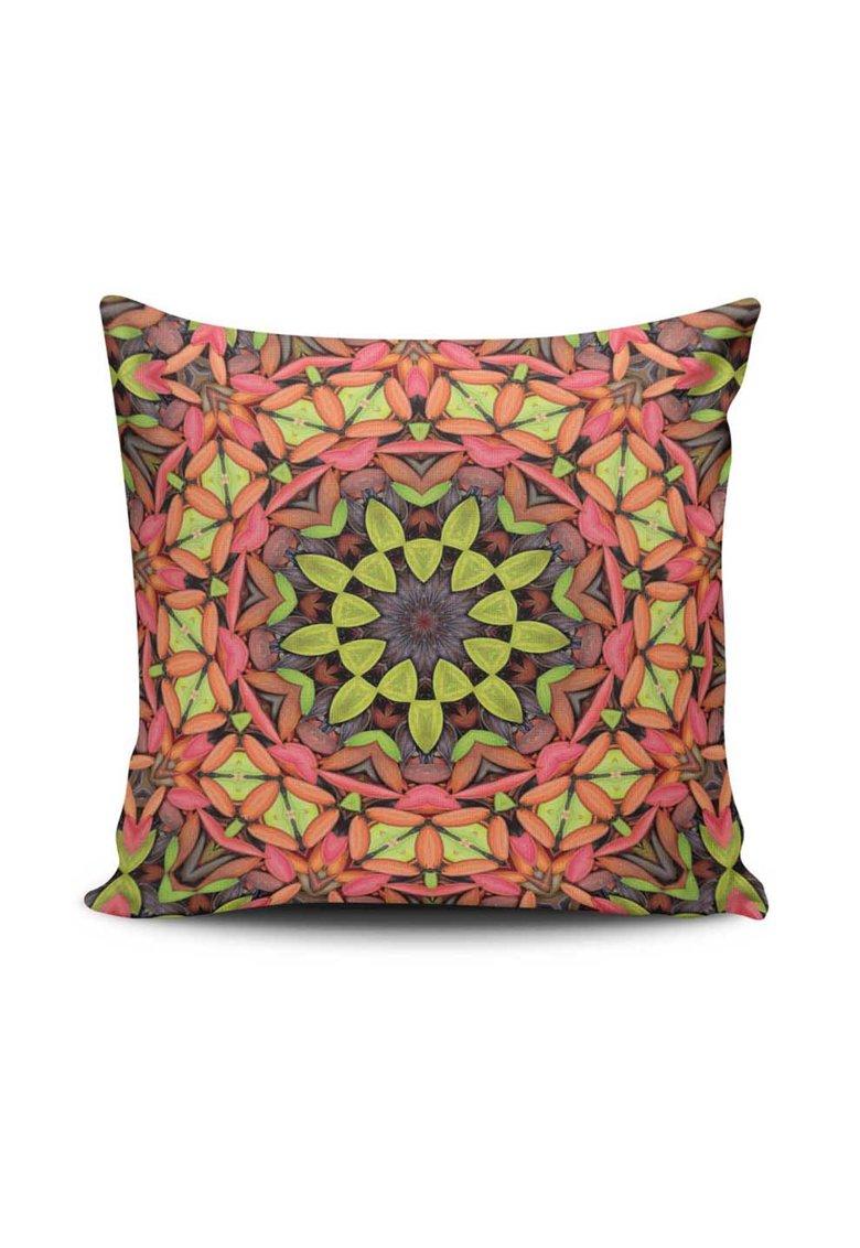 Leunelle Husa multicolora pentru perna decorativa cu imprimeu Mandala