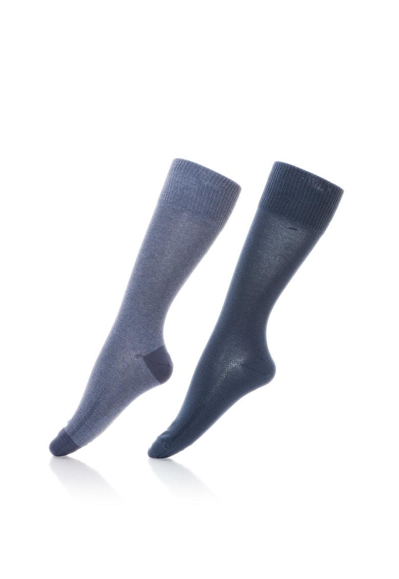 Levis Set de sosete lungi in nuante de albastru – 2 perechi