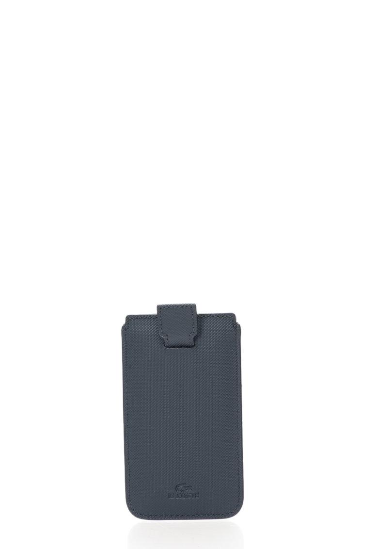Husa bleumarin texturata pentru iPhone