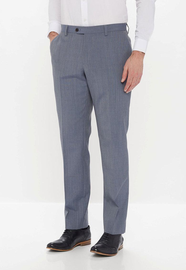 NEXT Pantaloni eleganti albastru cenusiu