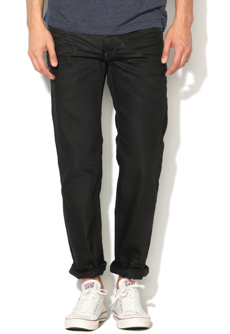 G-Star Raw Gans 51008-6578-Star Raw – Blugi drepti negri Attacc