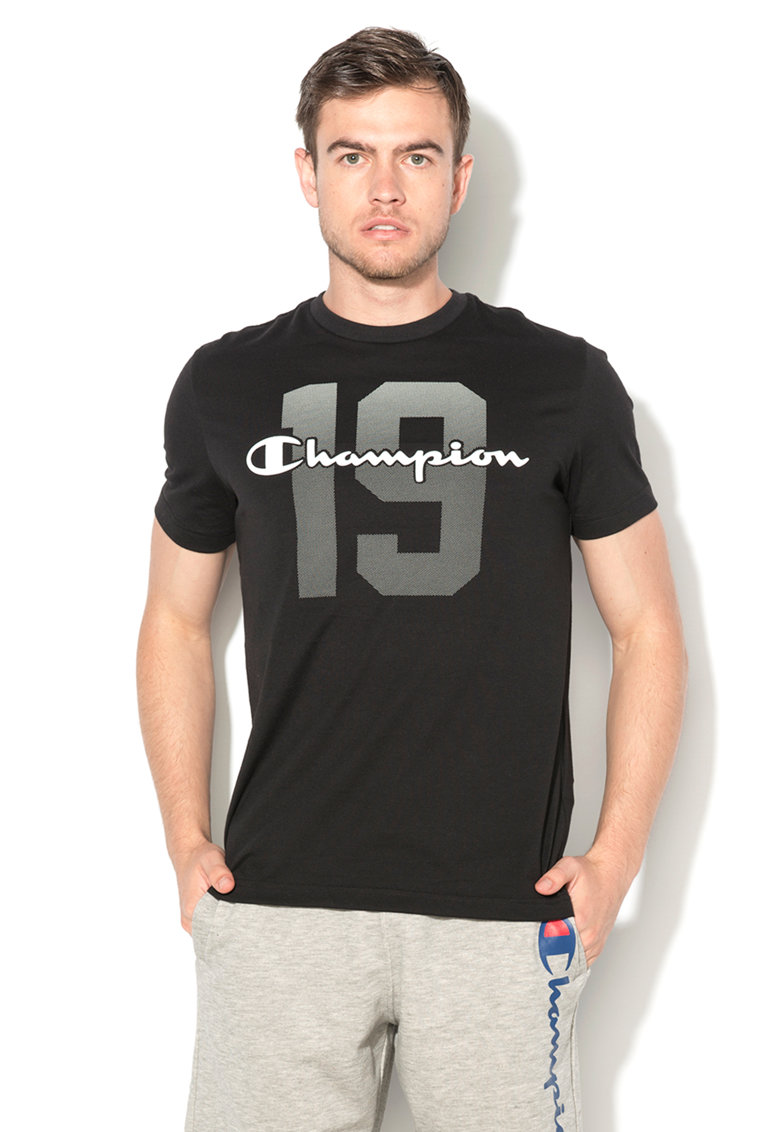 Champion Tricou negru easy fit