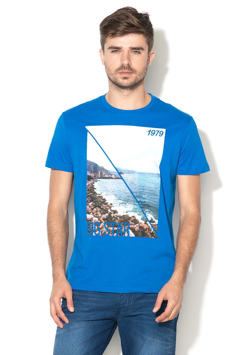 Tricou albastru Ember