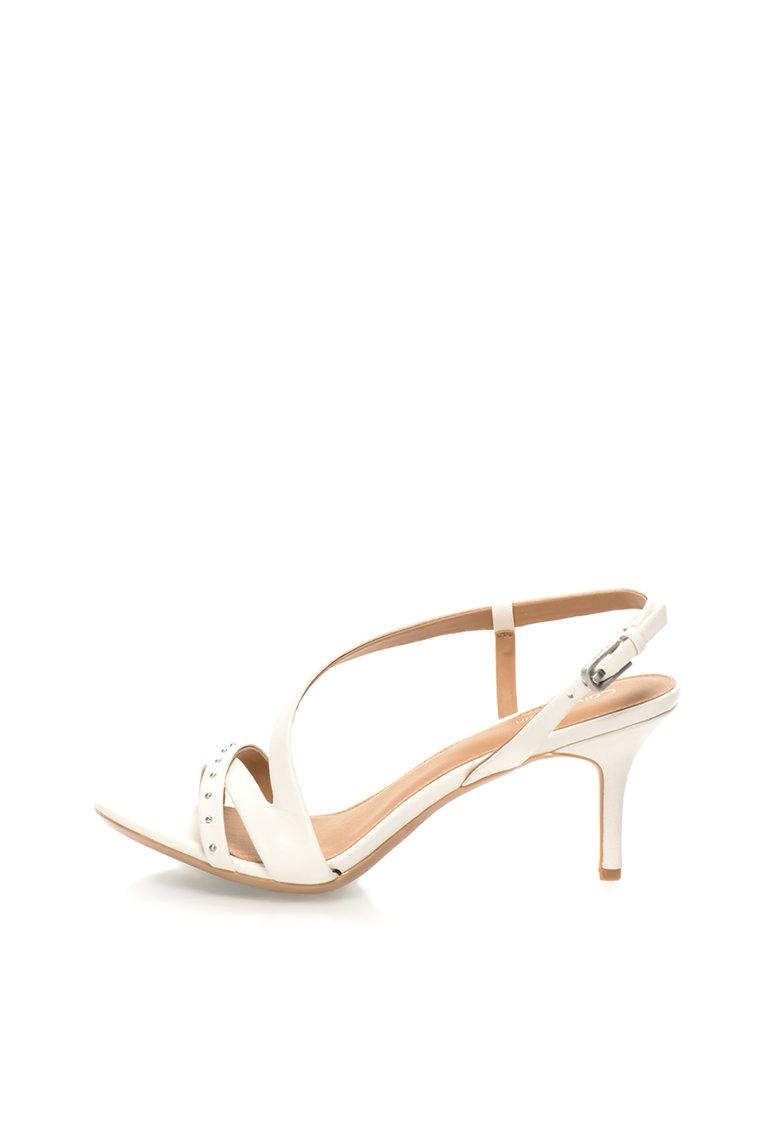 Sandale ecru de piele Lorelai