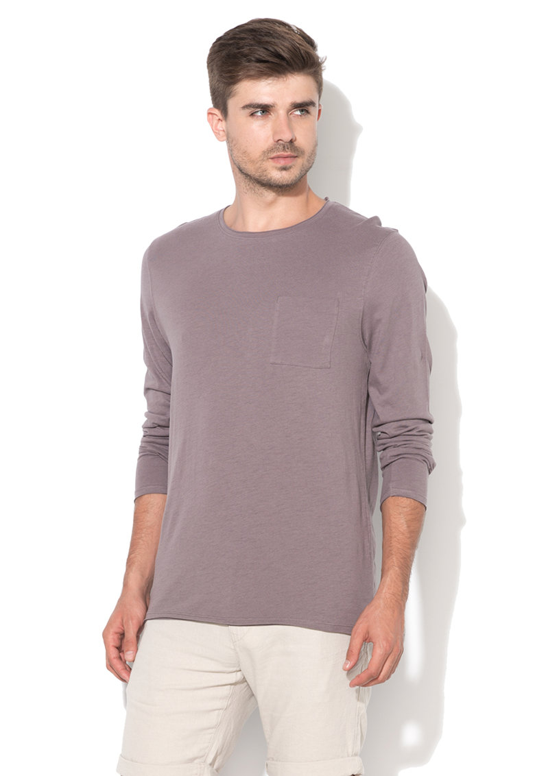 Selected Homme Bluza mov prafuit Cliff