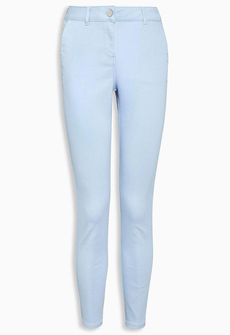 NEXT Pantaloni skinny crop bleu