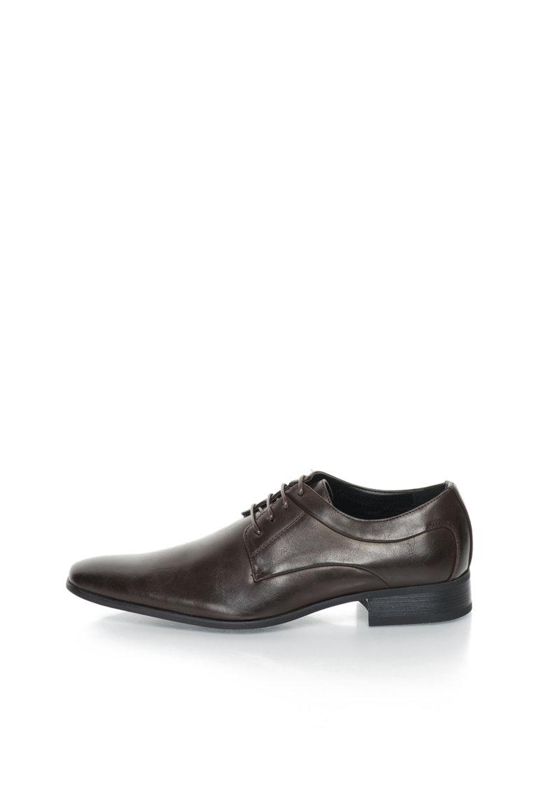 Versace 1969 Abbigliamento Sportivo Pantofi maro de piele sintetica Mathis